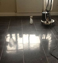 Black Marble Tile Cleaning