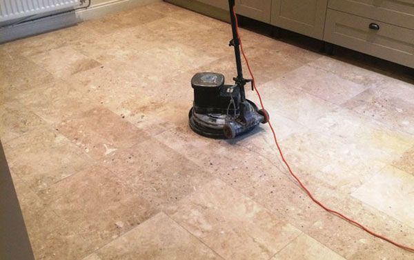 Grinding Marble Tiles
