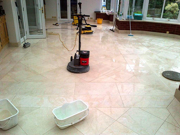 Honing Marble Tiles