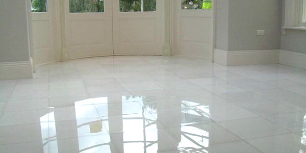 Marble Tile polished sealed